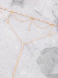 Rosary Lariat Choker Anarchy Street Pink - Details