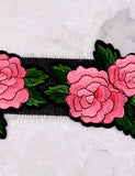 Rose Bush Choker Anarchy Street Denim - Details