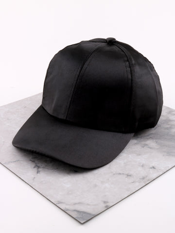 Modern Satin Cap Anarchy Street Black