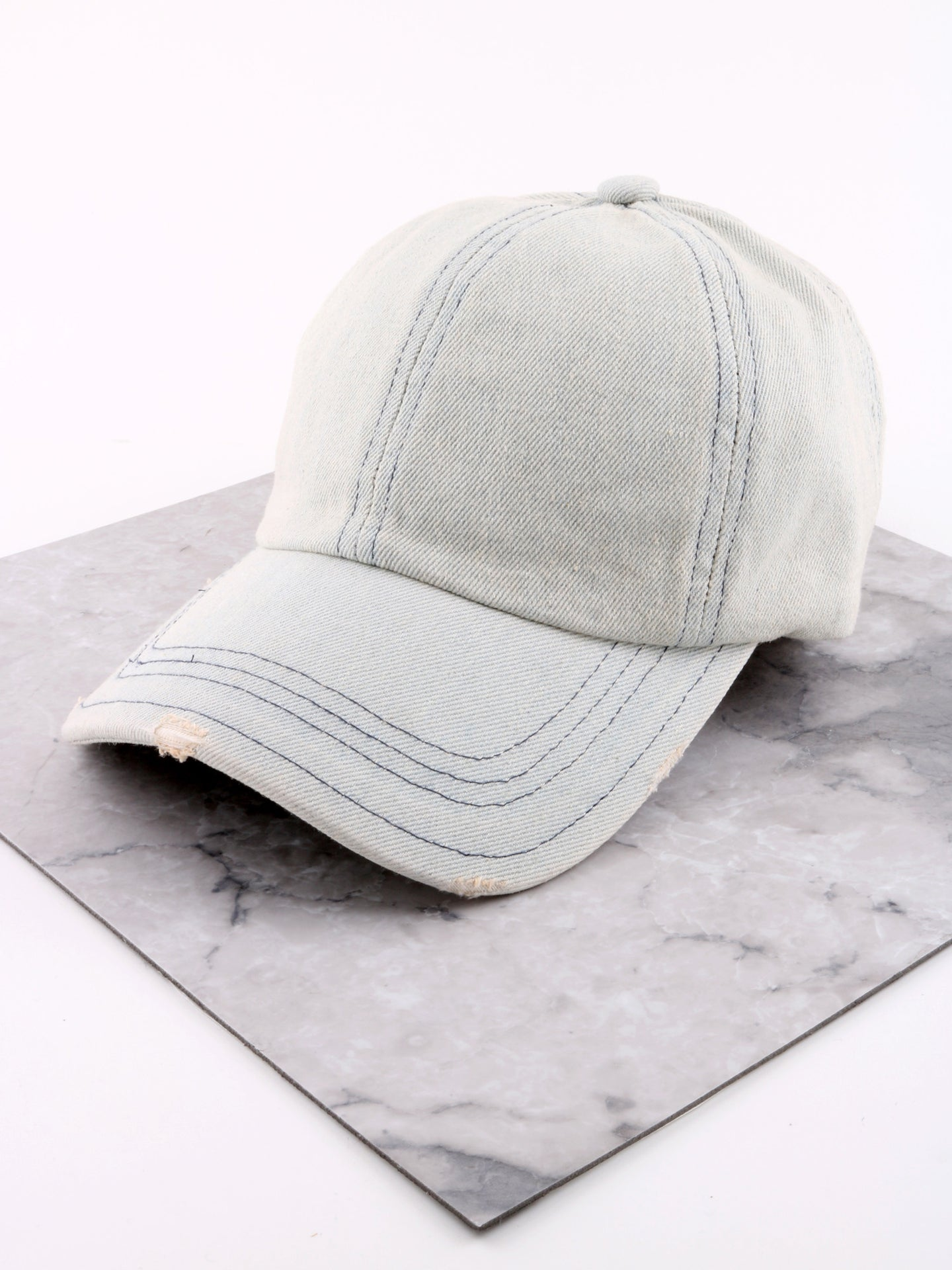 Modern Washed Denim Cap Anarchy Street Lightdenim