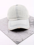 Modern Washed Denim Cap Anarchy Street Lightdenim - Details