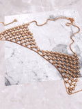 Flower Chain Bra Anarchy Street Gold