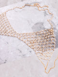 Crystal Web Chain Bra Anarchy Street Gold