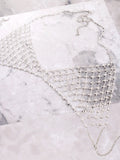 Crystal Web Chain Bra Anarchy Street Silver