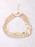 Disco Choker Anarchy Street Gold