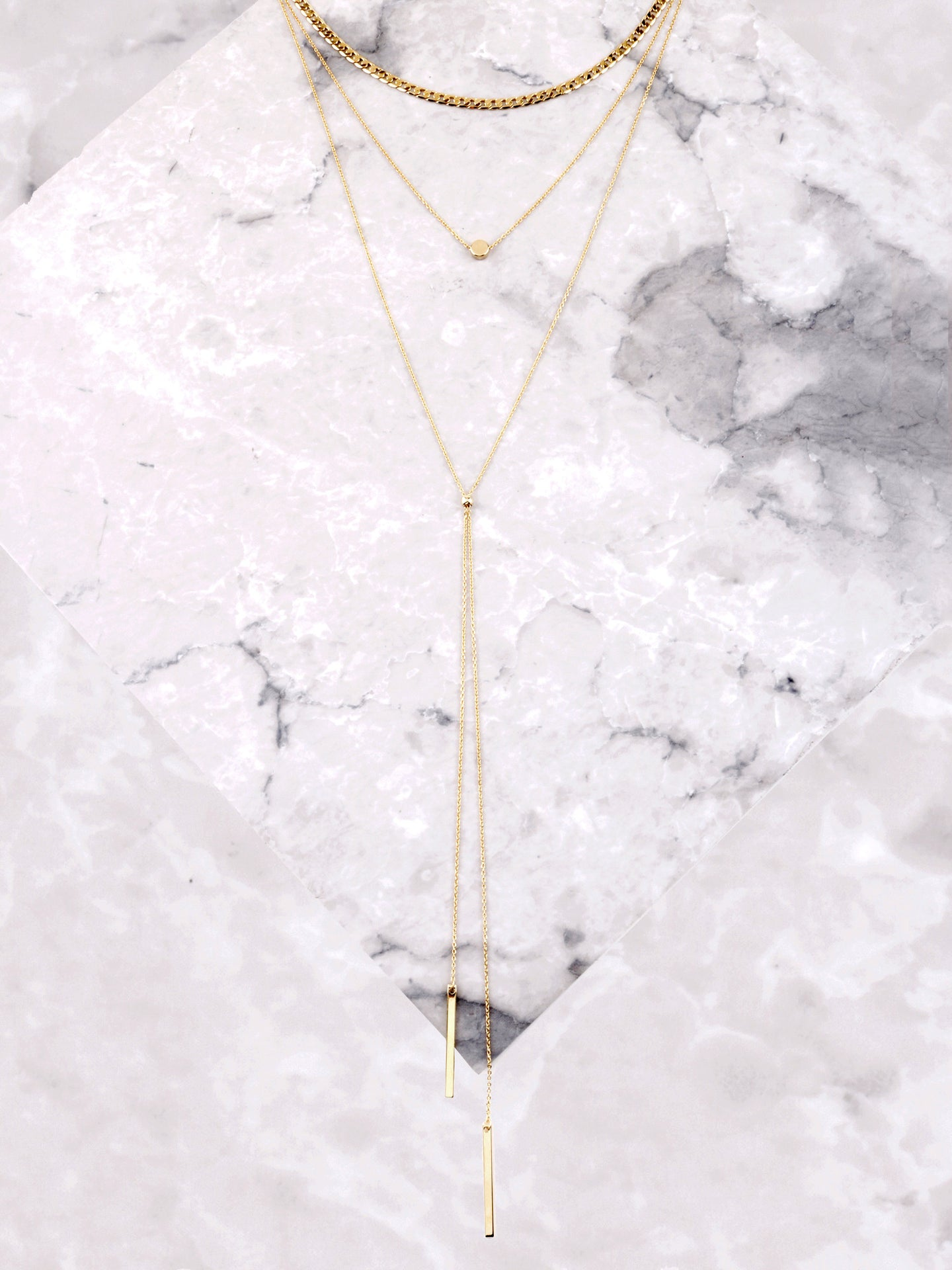 Linked Layered Choker Anarchy Street Gold