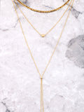 Linked Layered Choker Anarchy Street Gold - Details