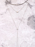 Linked Layered Choker Anarchy Street Silver - Details