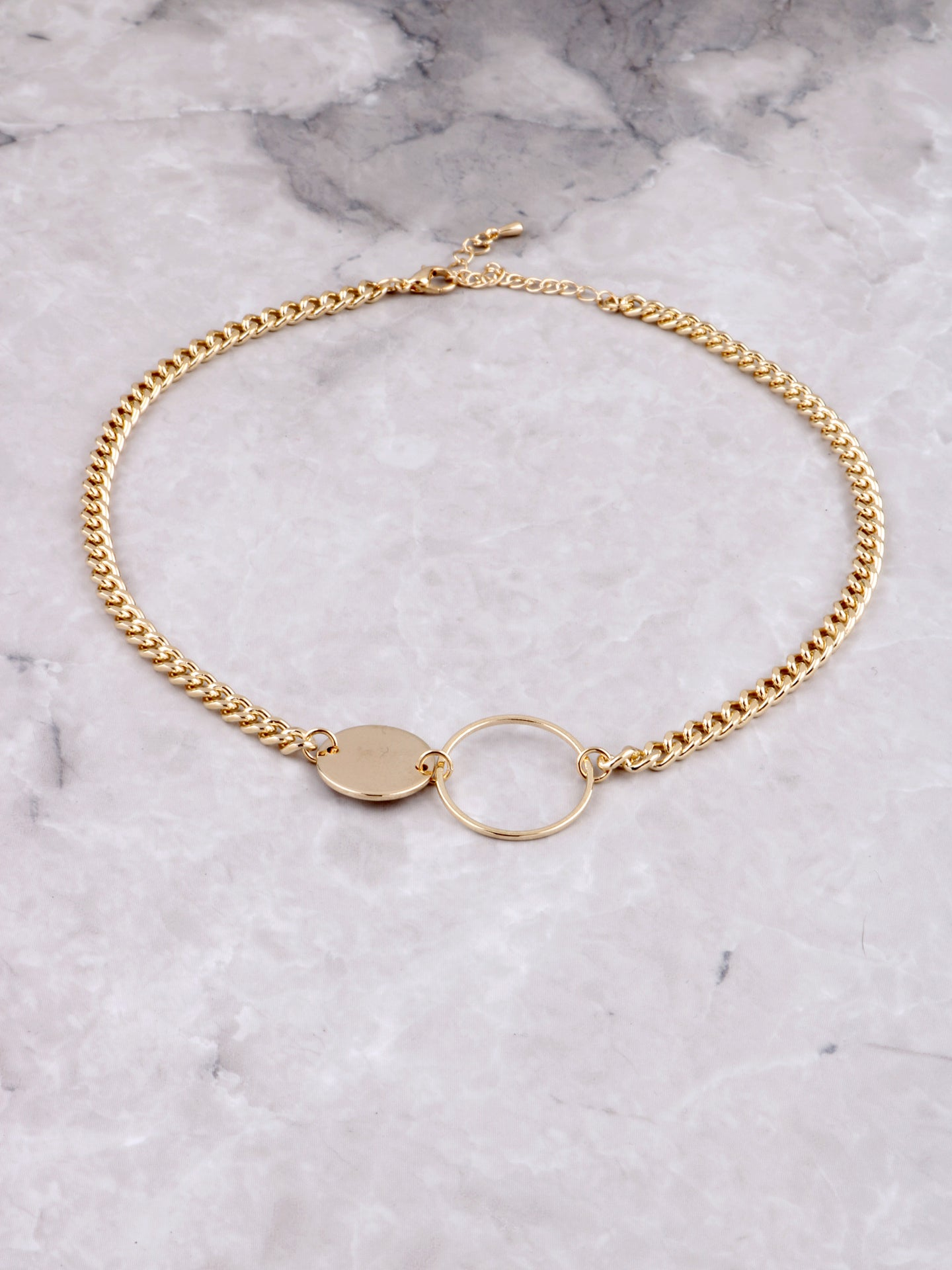 Open Disk Choker Anarchy Street Gold