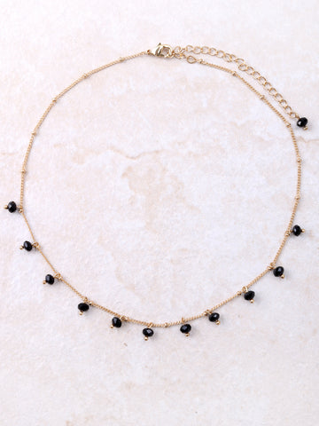 Black Drop Choker