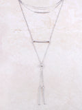 Double Bar Lariat Choker