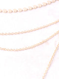 Dotted Bar Layered Choker Anarchy Street Gold - Details
