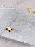 Emoticon Pendant Necklace Anarchy Street Gold