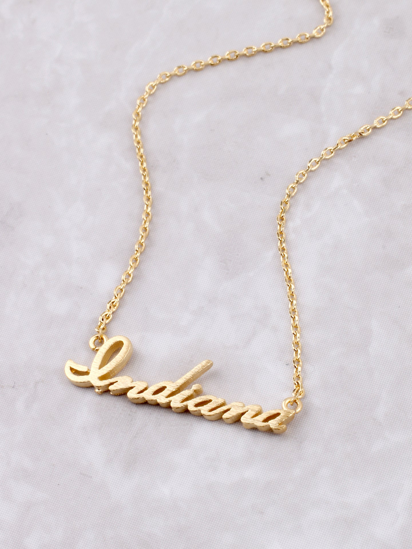 Hometown Necklace Anarchy Street Gold - 1