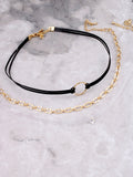 Triple Mixed Choker Anarchy Street Black