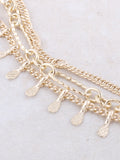 Tres Linked Choker Anarchy Street Gold - Details