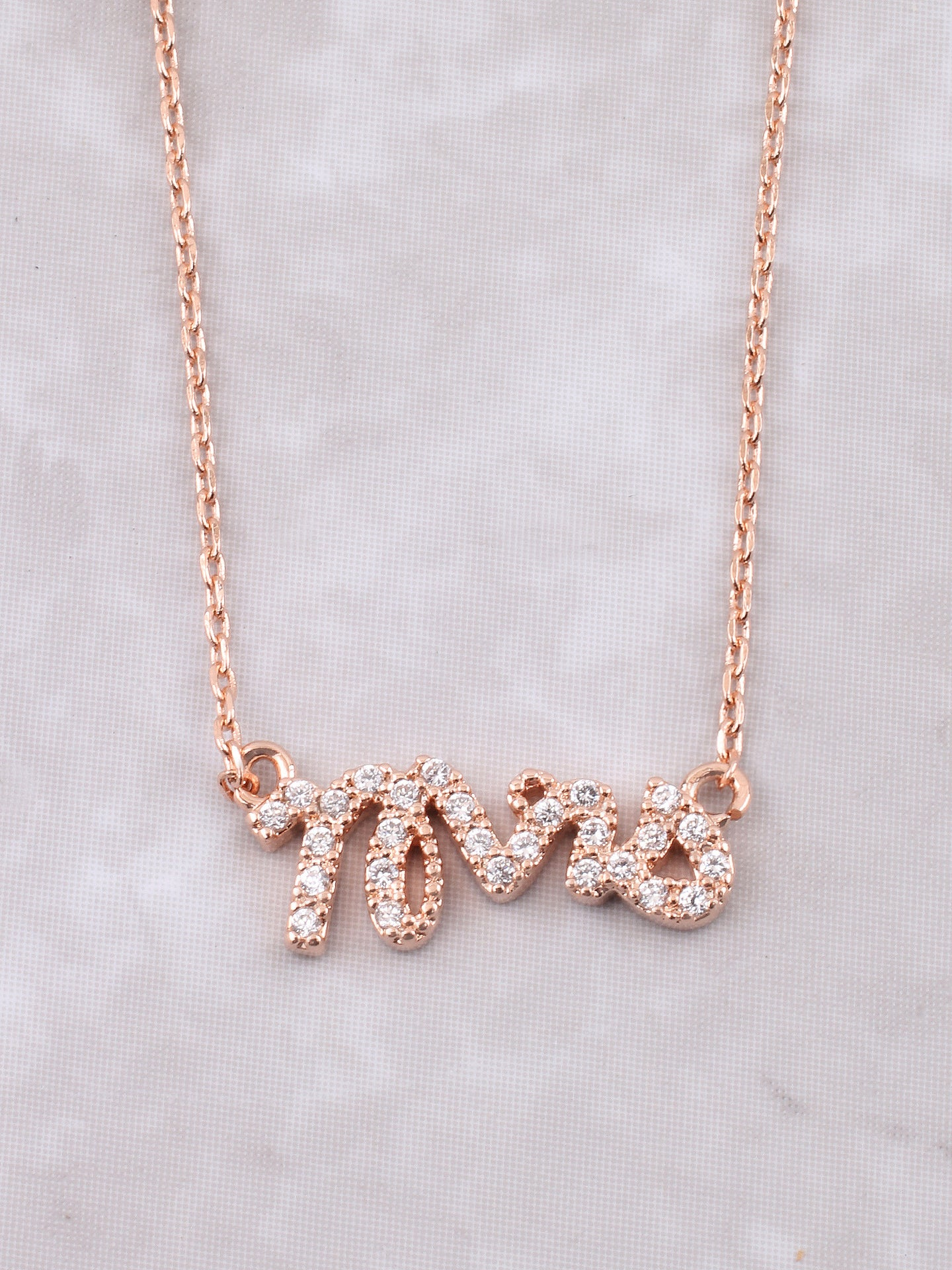 f67f57068d9798 Mrs Pave Necklace Anarchy Street Rosegold