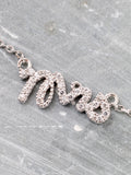 Mrs Pave Necklace Anarchy Street Silver - Details