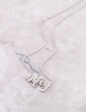 Pave Wifey Necklace Anarchy Street Silver