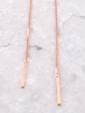 Chain Wrap Choker Anarchy Street Rosegold - Details