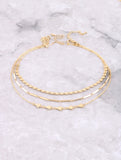 Shapely Dainty Choker Set Anarchy Street Gold - Details