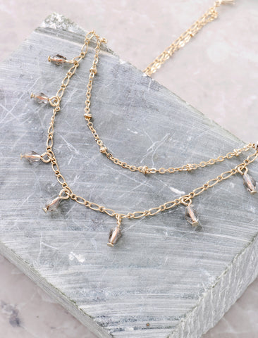 Tear Drop Choker Anarchy Street Gold