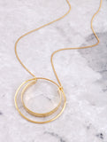 Double Loop Necklace Anarchy Street Gold