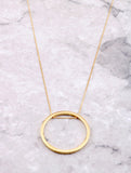 Hoop Layering Necklace Anarchy Street Gold