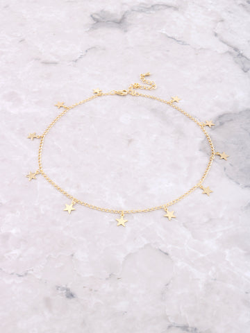 Starlight Choker Anarchy Street Gold