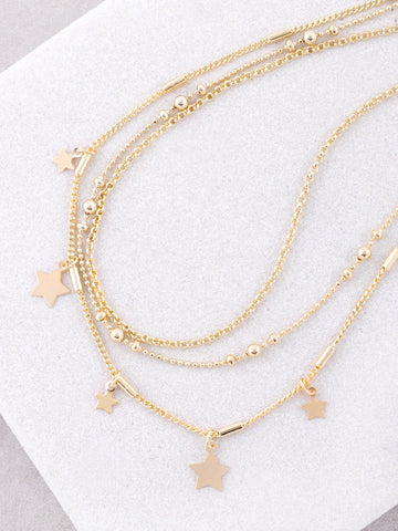 North Star Choker Set Anarchy Street Gold - Details