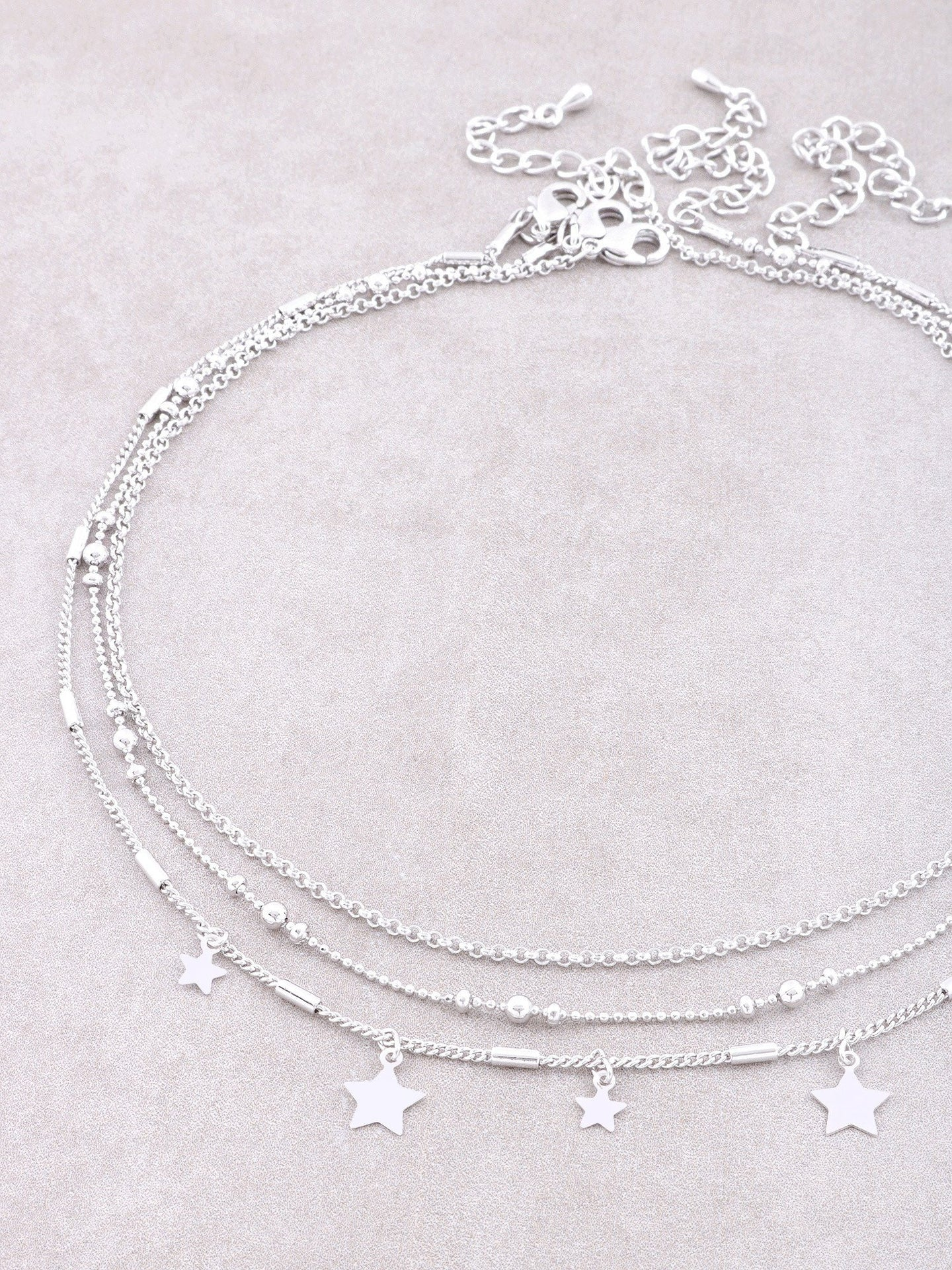 North Star Choker Set Anarchy Street Silver