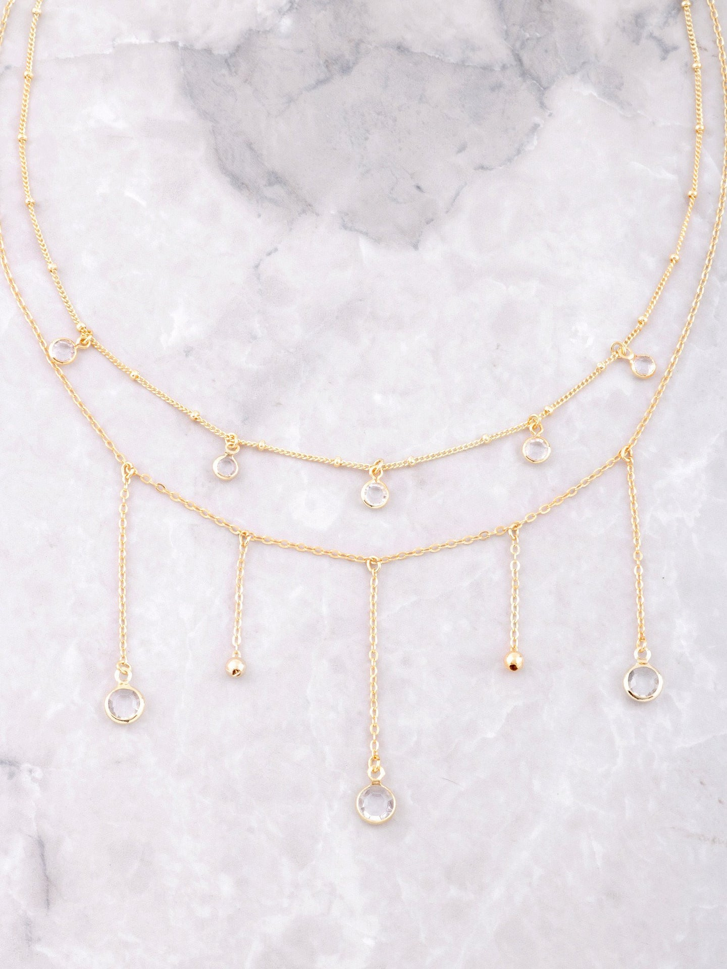 Dripping Stones Choker Set Anarchy Street Gold