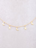 Nighty Sky Necklace Anarchy Street Gold