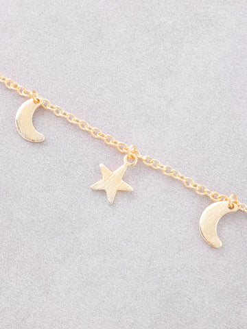 Nighty Sky Necklace Anarchy Street Gold - Details