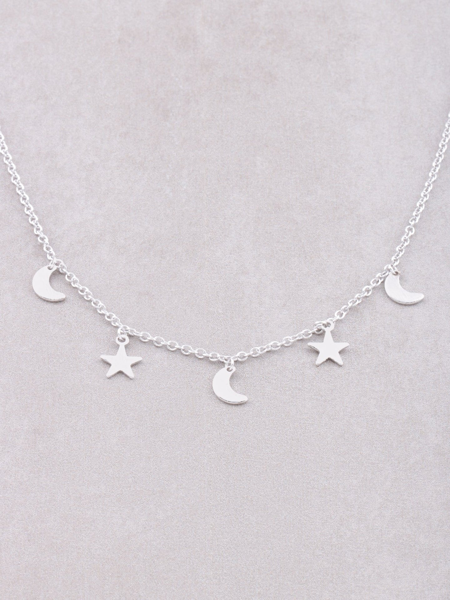 Nighty Sky Necklace Anarchy Street Silver