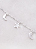 Nighty Sky Necklace Anarchy Street Silver - Details