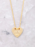 Love You More Necklace Anarchy Street Gold