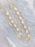 Streamer Choker Set Anarchy Street Gold - Details