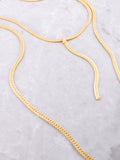 Double Herringbone Necklace