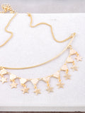 Pyramid Star Necklace