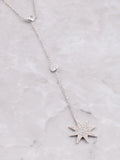 Sterling Silver Shooting Star Necklace Anarchy Street Silver - Details