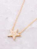 Estrella Necklace Anarchy Street Gold - Details