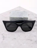 Poolside Cat Eye Sunglasses Anarchy Street Matteblack_Black