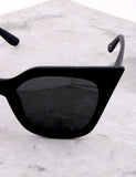 Poolside Cat Eye Sunglasses Anarchy Street Matteblack_Black - Details