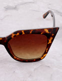 Poolside Cat Eye Sunglasses Anarchy Street Tortoise_Brown - Details