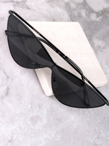 Runaway Cat Eye Sunglasses Anarchy Street Black