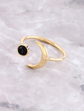 Marble Crescent Ring Anarchy Street Black