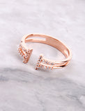 Banded Ring Anarchy Street Rosegold