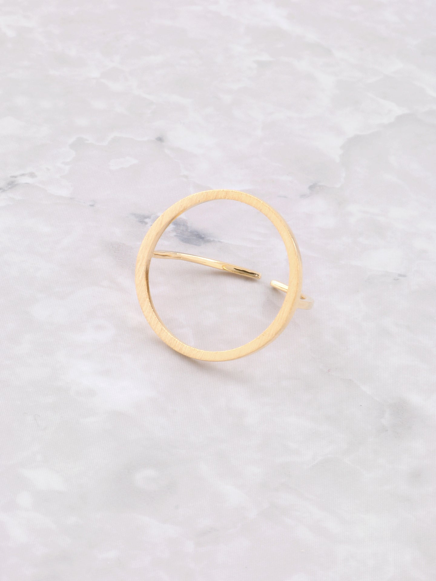 Matte Oh Ring Anarchy Street Gold