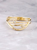 Orbit Ring Anarchy Street Gold - Details